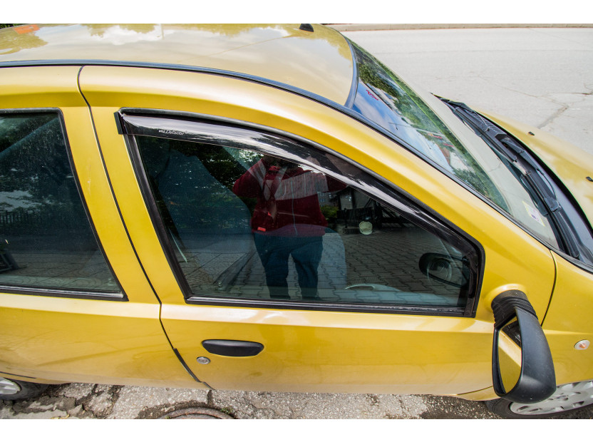 Farad Front Wind Deflectors for Fiat Punto 5 doors 1999-2011 3