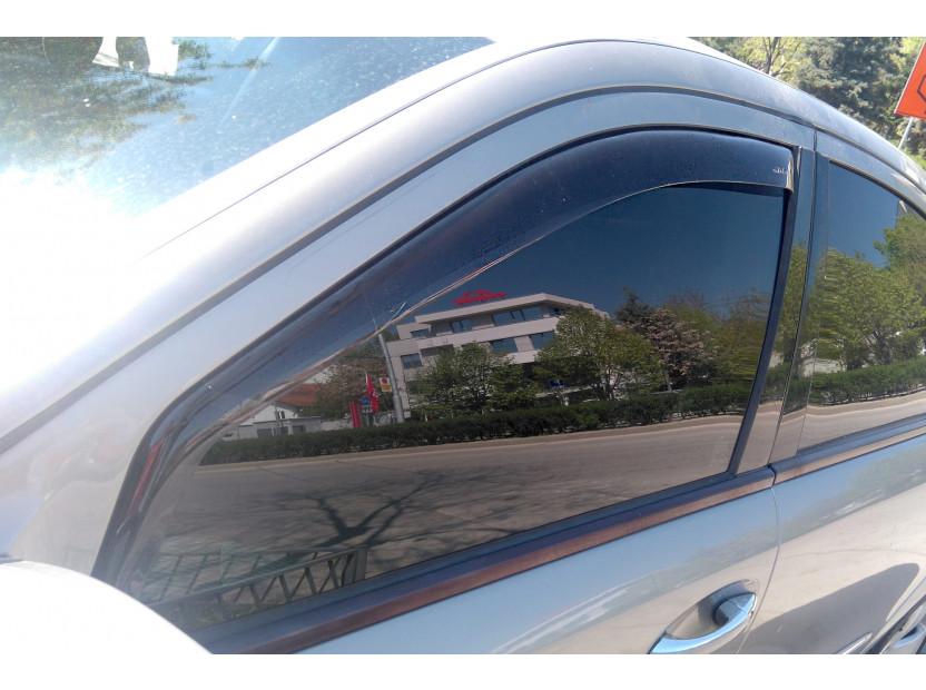 Farad Front Wind Deflectors for Mercedes E class W211 sedan/station wagon 2002-2009 3