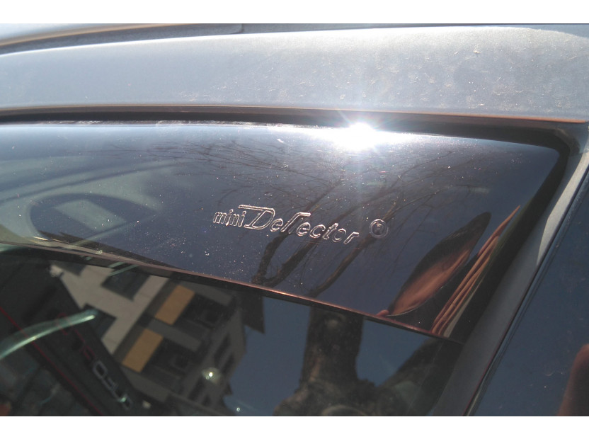 Farad Front Wind Deflectors for Mercedes E class W211 sedan/station wagon 2002-2009 4