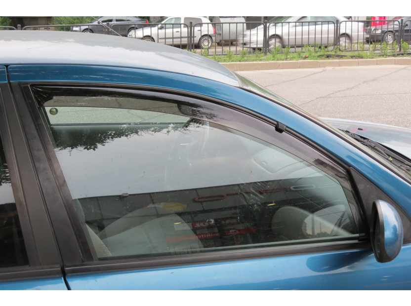Farad Front Wind Deflectors for Nissan Almera 5 doors after 2000 2