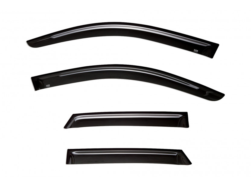 EGR 4 pieces Wind Deflectors Kit for Audi Q3 after 2011