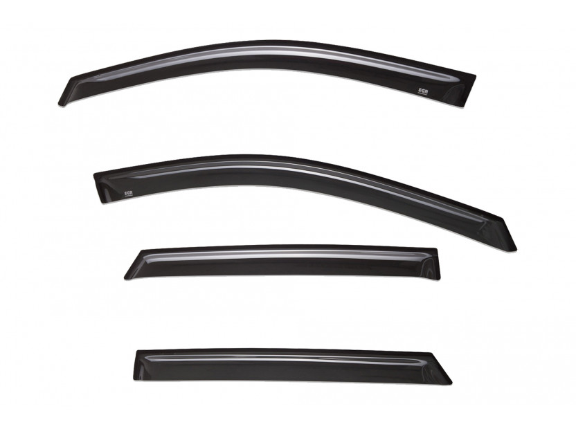 EGR 4 pieces Wind Deflectors Kit for Hyundai Santa Fe after 2012