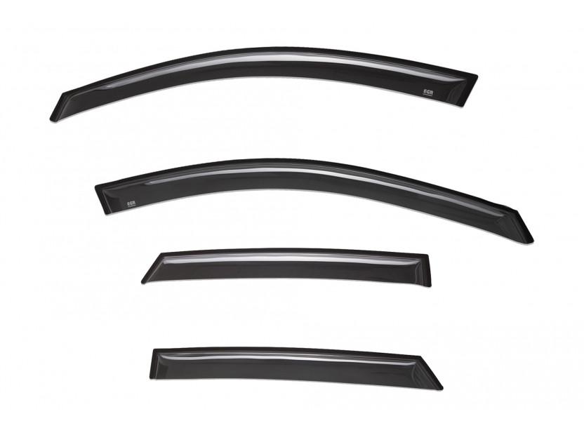 EGR 4 pieces Wind Deflectors Kit for Mazda CX3 after 2015