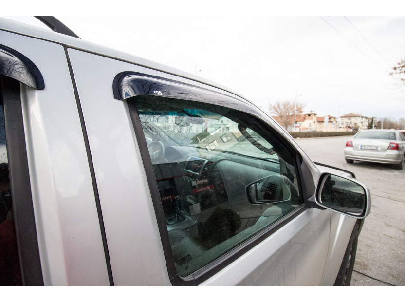 EGR 4 pieces Wind Deflectors Kit for Nissan Pathfinder 2005-2015 4