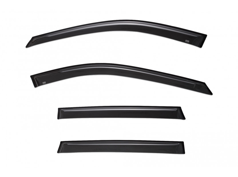 EGR 4 pieces Wind Deflectors Kit for Nissan X-trail after 2014