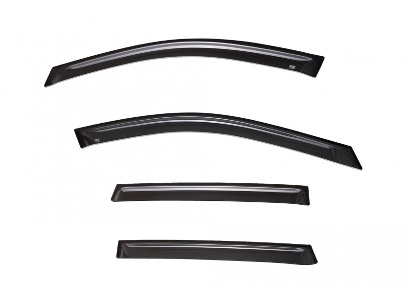 EGR 4 pieces Wind Deflectors Kit for Nissan Pathfinder after 2015