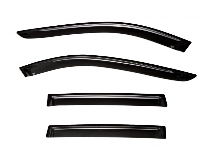 EGR 4 pieces Wind Deflectors Kit for SsangYong Kyron after 2006