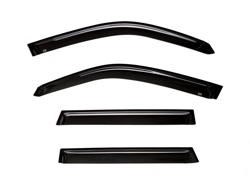 EGR 4 pieces Wind Deflectors Kit for Suzuki Grand Vitara after 2005