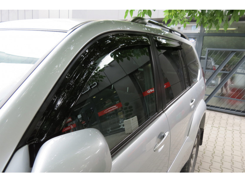 EGR 4 pieces Wind Deflectors Kit for Toyota Land Cruiser 120 2003-2008 4