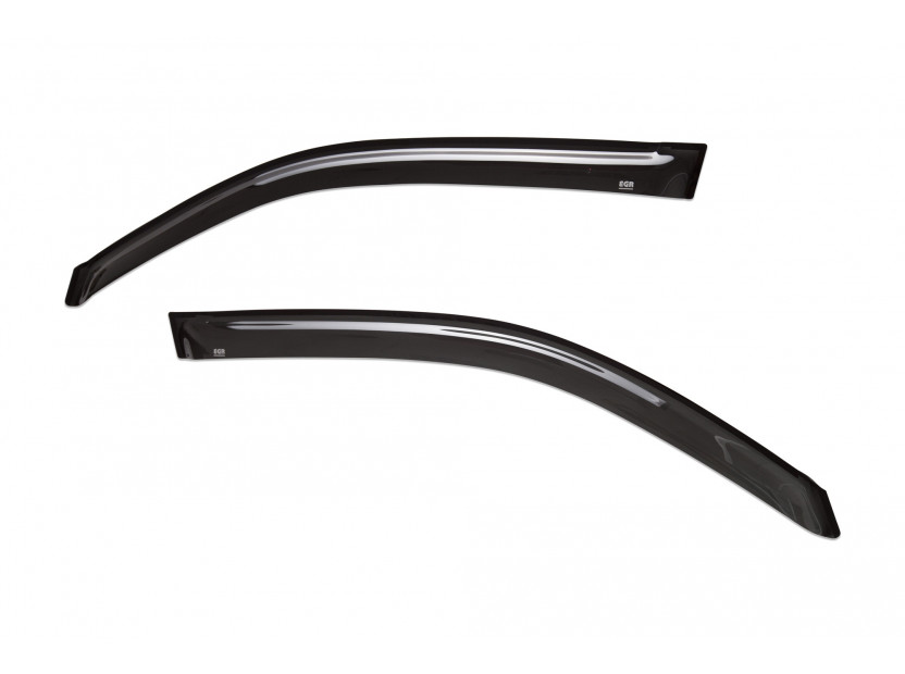 EGR 4 pieces Wind Deflectors Kit for Toyota Land Cruiser 200 after 2007 2