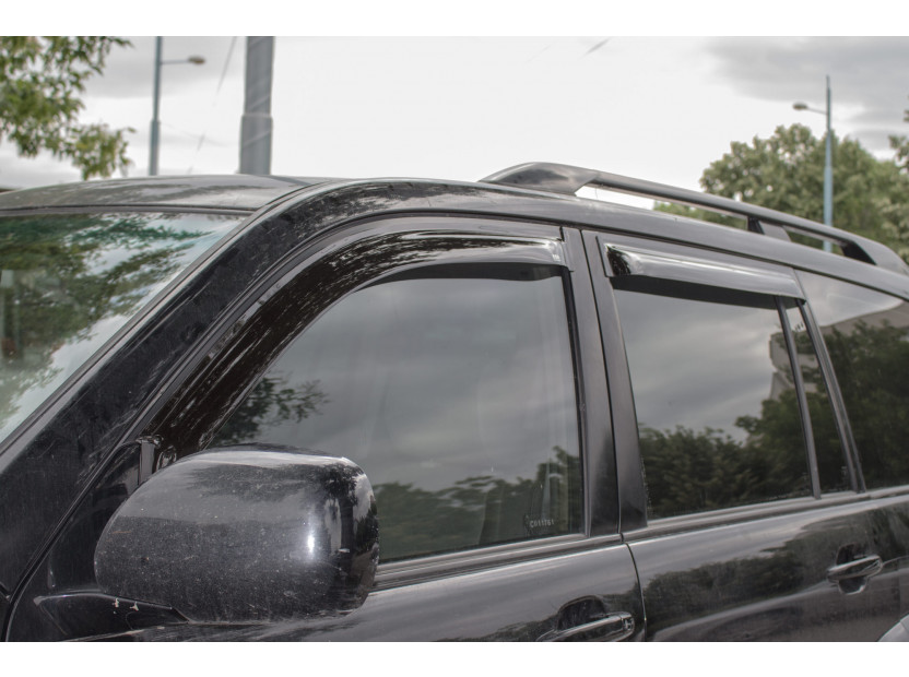 EGR 4 pieces Wind Deflectors Kit for Toyota Land Cruiser 150 after 2009 4