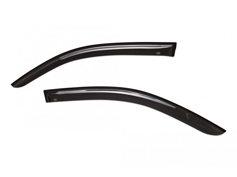 EGR 4 pieces Wind Deflectors Kit for Toyota Hilux double cab after 2016 2