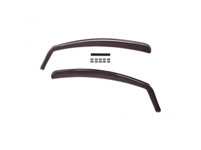 Farad Front Wind Deflectors for Citroen C1 3 doors after 2005