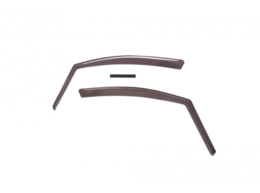 Farad Front Wind Deflectors for Peugeot 208 5 doors hatchback/station wagon 04/2012/Peugeot 2008 with roof rails after 06/2013/Peugeot 2008 without roof rails after 06/2013