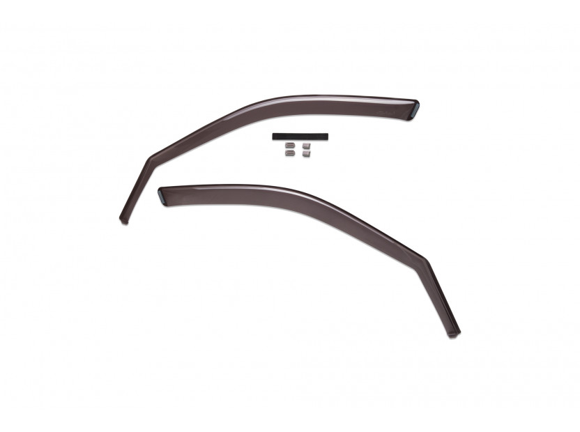 Farad Front Wind Deflectors for BMW X5 E70 03/2007-10/2013/X5 F15 after 11/2013
