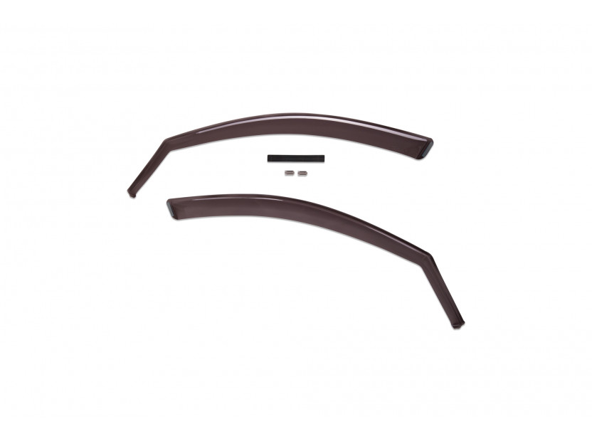 Farad Front Wind Deflectors for BMW X6 E71 06/2008-11/2014