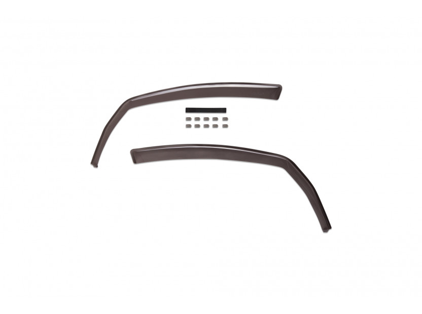 Farad Front Wind Deflectors for Mitsubishi Colt 5 doors after 2004