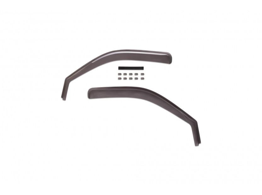 Farad Front Wind Deflectors for Mazda BT50 2/4 doors after 2008/Ford Ranger 2/4 doors after 2008