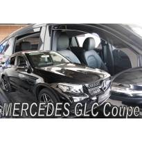 Heko 4 pieces Wind Deflectors Kit for Mercedes GLE Coupe C292 5 doors after 2016 year