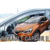 Предни ветробрани Heko за Renault Captur след 2019 година с 5 врати, тъмно опушени, 2 броя