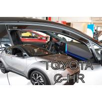 Heko Front Wind Deflectors for Toyota C-HR 5 doors after 2016