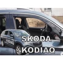 Предни ветробрани Heko за Skoda Kodiaq след 2016 година с 5 врати, тъмно опушени, 2 броя