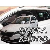 Комплект ветробрани HEKO за Skoda Karoq 5 врати след 2017 година
