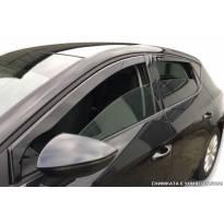 Heko 4 pieces Wind Deflectors Kit for Fiat Doblo 5 doors after 2010 year