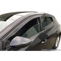 Heko 4 pieces Wind Deflectors Kit for Fiat Fullback 4 doors after 2016 year