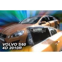 Heko 4 pieces Wind Deflectors Kit for Volvo S60 4 doors after 2010 year