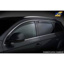 Комплект ветробрани Gelly Plast за Jaguar XF 2007-2015 с 4 врати, черни, 4 броя