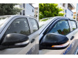 EGR 4 pieces Wind Deflectors Kit for Toyota Hilux double cab after 2016 5