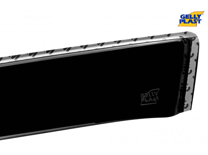 Комплект ветробрани Gelly Plast за Chevrolet Captiva комби 2006-2011, Daewoo Windstorm 2006-2011, 4 броя, черни 4
