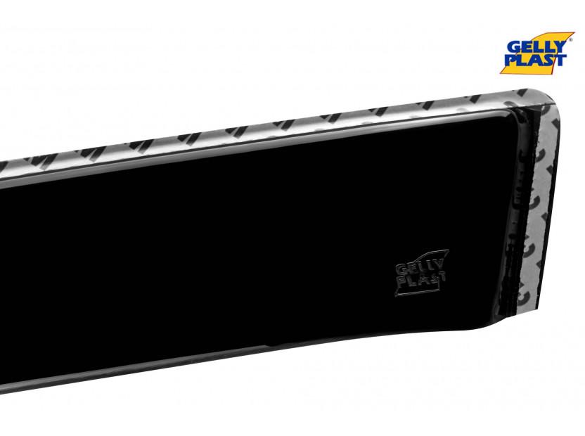 Комплект ветробрани Gelly Plast за Dacia Sandero след 2012 година, 4 броя, черни 4