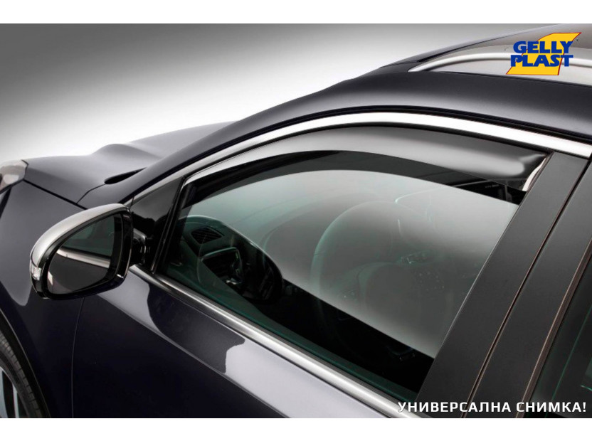 Предни ветробрани Gelly Plast за Kia Sportage 2004-2010, 2 броя, черни 5