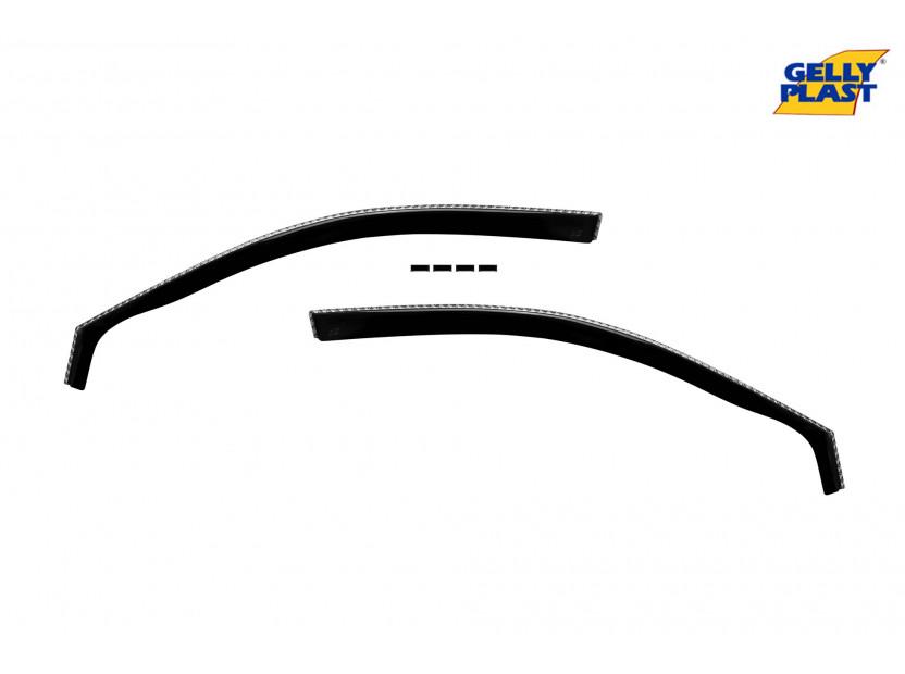 Предни ветробрани Gelly Plast за Audi A3 2 врати 2003-2013, 2 броя, черни