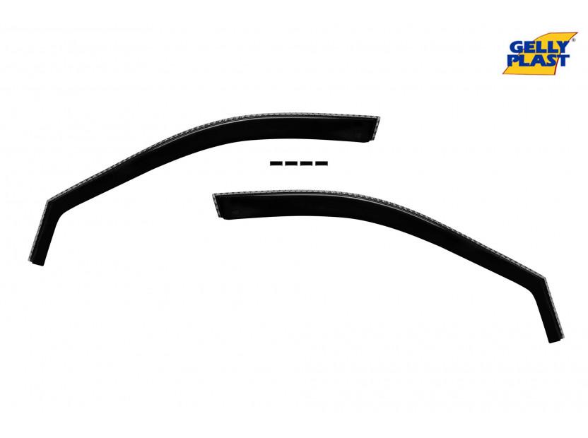Предни ветробрани Gelly Plast за Kia Sportage 2004-2010, 2 броя, черни