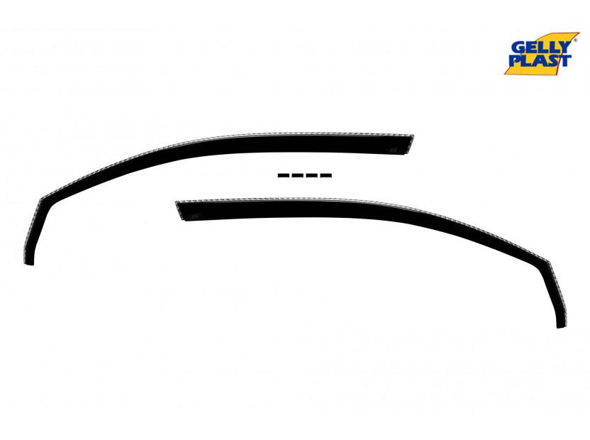 Предни ветробрани Gelly Plast за Volkswagen Golf 5, 6 3 врати 2008-2013, 2 броя, черни