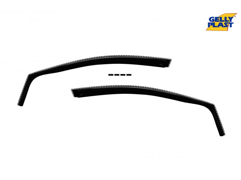 Комплект ветробрани Gelly Plast за Ford Kuga след 2012 година, 4 броя, черни 2