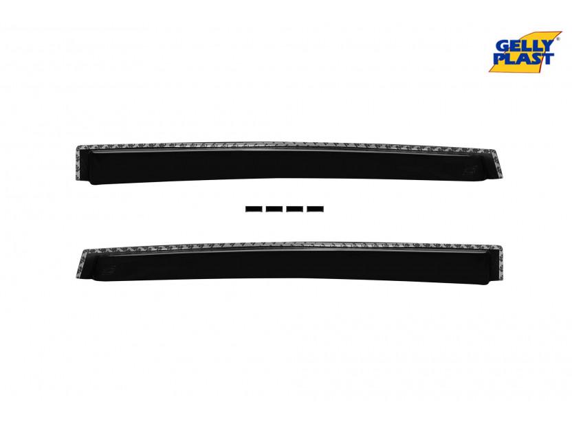 Комплект ветробрани Gelly Plast за Ford Kuga след 2012 година, 4 броя, черни 3