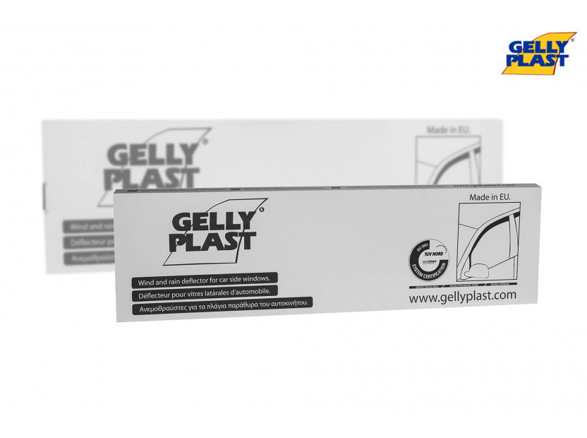 Предни ветробрани Gelly Plast за Volkswagen Golf 5, 6 3 врати 2008-2013, 2 броя, черни 4