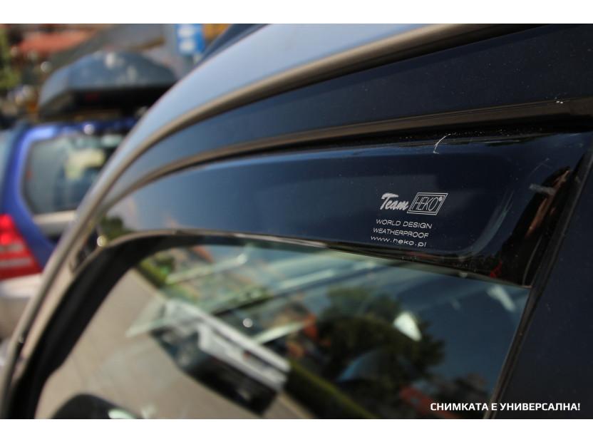 Комплект ветробрани Heko за Hyundai Pony 5 врати до 1994 година 4 броя 3