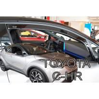 Предни ветробрани Heko за Toyota C-HR след 2016 година, тъмно опушени, 2 броя