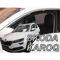 Предни ветробрани Heko за Skoda Karoq след 2017 година с 5 врати, тъмно опушени, 2 броя