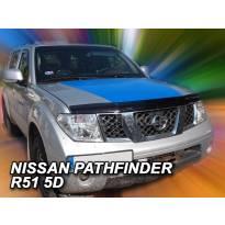 Дефлектор за преден капак за Nissan Navara/Pathafinder след 2005 година