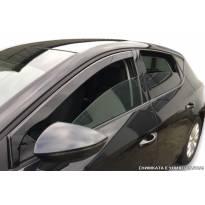 Предни ветробрани Heko за Nissan Navara след 2014 година с 5 врати, тъмно опушени, 2 броя