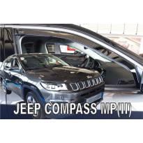 Предни ветробрани Heko за Jeep Compass MP след 2017 година с 4 врати, тъмно опушени, 2 броя