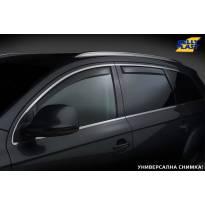 Комплект ветробрани Gelly Plast за Toyota Corolla хечбек 2002-2012 с 5 врати, черни, 4 броя